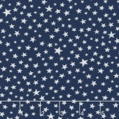 Modafications - Stars Indigo Yardage