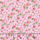 Afternoon in the Attic - Dainty Blooms Sweet Pea Flannel Yardage