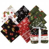 Gnome for Christmas Flannel Fat Quarter Bundle