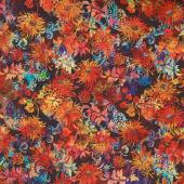 Floragraphix V - Allover Floral Multi Yardage
