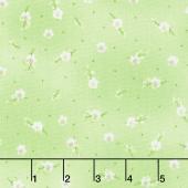 Greenery - Lily Buds Green Yardage
