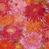 Kaffe Classics - Lipstick Japanese Chrysanthemum Pink Yardage