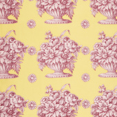 Kaffe Fassett Collective Fall 2018 - Stone Flower Yellow Yardage