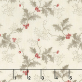 Holly Woods - Holly Snow Berry Yardage