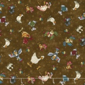 No Fowl Play - Small Character Toss Brown Yardage