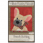 French Bulldog Precut Fused Appliqué Pack
