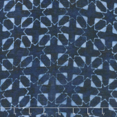 Calypso Rayon Batiks - Starbursts Midnight Yardage