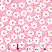 Badda Bing! - Cherry Blooms Pink Yardage