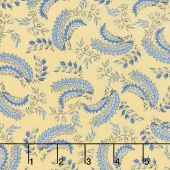 Regency Ballycastle Chintz 18th Century - Greyabbey Sudbury Yellow Yardage
