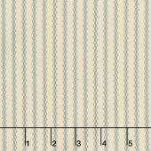 New Circa Essentials Shirtings - Star Stripe Blue Yardage