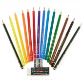 Polychromos Color Pencils - 16ct Mixed Media Set