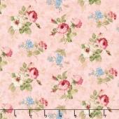 Vintage Rose - Floral Pink Yardage