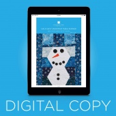 Digital Download - Half - Hexy Snowman Table Runner Pattern by MSQC