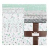 Cozy Cotton Flannels - Mint Ten Squares