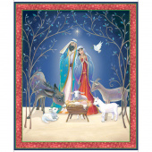 Christ is Born - Nativity Multi Digitally Printed Panel