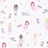 Twinkle Fairies - Sprinkle, Sprinkle Little Stars Sparkle Yardage