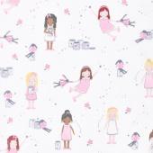 Twinkle Fairies - Sprinkle, Sprinkle Little Stars Sparkle Yardage