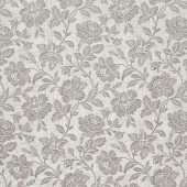 "Memoirs - Flourish Script Silver Sateen 108"" Wide Backing"