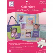 Colorfast Print Fab White 3pk