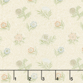 Morris Garden - Powdered 1874 Porcelain Yardage