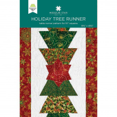 Holiday Tree Runner Pattern by Missouri Star