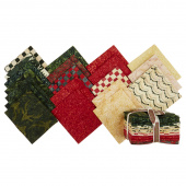 Candy Cane Lane Batiks Fat Quarter Bundle