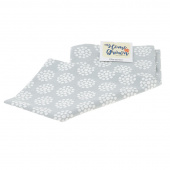 Home Grown Tea Towel - Dot Flowers Grey