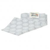 Home Grown Tea Towel - Dot Flowers Grey