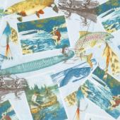 Gone Fishin' - Gone Fishin' Aqua Yardage