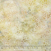 Mosaic Batiks - Mosaic Pale Yellow Yardage