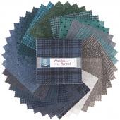 Woolies Flannel Stormy Seas Charm Pack