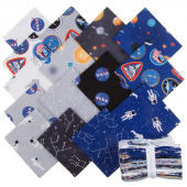 Out of this World with NASA Fat Quarter Bundle