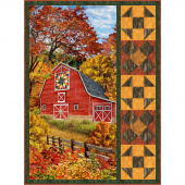 Autumn Barn Harvest Village Kit