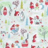 Little Red in the Woods - Main Mint Yardage