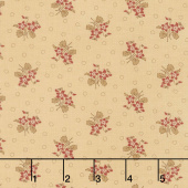 Hickory Road - Bouquet Cream Yardage