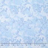 Wilmington Essentials - Sapphire Sky Embellishment Light Blue Yardage