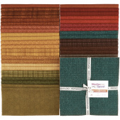 "Woolies Flannel Desert Sunset 10"" Squares"
