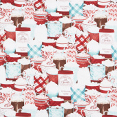 Cuppa Cocoa - Packed Cups Multi Yardage