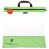 "MSQC's SEEYOURSTUFF Bag 16"" x 16"" - Lime Green"