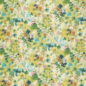 Bloom Bloom Butterfly - Wild Meadow Lemon Yardage