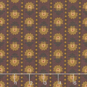 Wit & Wisdom - Folk Art Stripe Plum Yardage