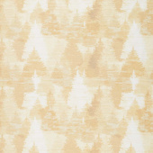 Wild and Free - Lodge Tree Collage Dark Butter Yardage