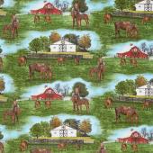 Thistle Hill - Horse Farm Multi Yardage