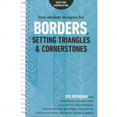 Free-Motion Designs for Borders, Setting Triangles & Cornerstones Book