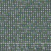 Dream - Dots Charcoal Yardage