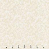 Winterberry - Winter Scroll Cream Yardage