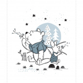 Winnie the Pooh - Pooh and Piglet White Panel
