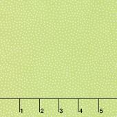Sunny Bee - Seed Dots Green Yardage