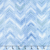 Tessellations - Broken Chevron Light Blue Yardage