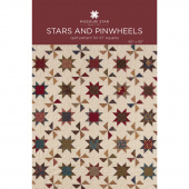 Stars and Pinwheels Quilt Pattern by MSQC